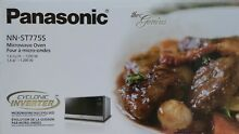 Panasonic NNST775S Microwave Oven 1 6 cu ft Stainless Steel Cyclonic Countertop