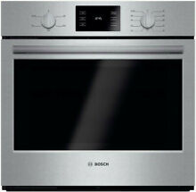 Bosch HBL5351UC 500 Series 30  Single Electric Wall Oven Eco Clean stainless