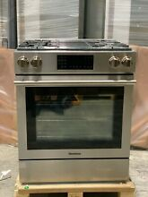 Blomberg 30  Pro Style Slide In Gas Range 4 Burners Stainless Steel BGR30420SS