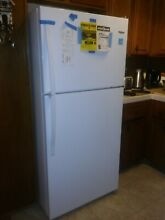 Appliance   Whirlpool   18 2 Cu  Ft Top Freezer Refrigerator   white