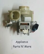 Ge Dishwasher Pump   Motor Assy 165D6834P001 IC 26225GDWA tested