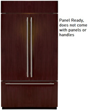Sub Zero BI42UFDO 42   Built in French Door Refrigerator Panel Ready with Ice