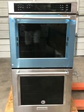 Kitchenaid KODE307ESS 27  Double Electric Wall Oven Self Cleaning Convection  SS