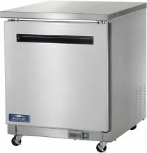 New Arctic Air AUC27F 27  Undercounter Freezer   6 5 cu  ft  Stainless Steel