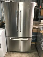 Jennair JFC2089BEP 36 Inch Stainless Steel Counter Depth French Door Refrigerato