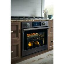 Samsung 30  Single Electric Wall Oven Flex Duo Dual Black Stainless NV51K7770SG