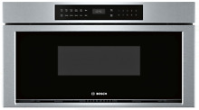 Bosch HMD8053UC 800 Series 30  Microwave Drawer in Stainless Steel