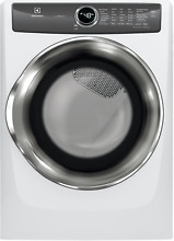 Electrolux  27  Electric Dryer with Luxcare Dry System in White EFME527UIW