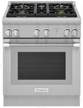 Thermador PRD304WHU Pro Harmony Pro Series 30  Dual Fuel Range Stainless Steel