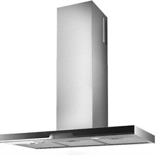 Best Sorpresa Collection WC34I90SB 36  Eclisse Wall Mount Chimney Hood SxS