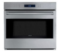 Wolf E Series SO30PE S PH 30 Inch Single Electric Wall Oven in Stainless Steel
