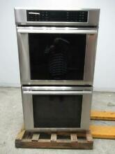 Thermador Masterpiece Series 30  SS Double Electric Wall Oven MED302JS EXCLNT
