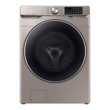 Samsung 27  Front Load Washer with Steam and Super Speed   WF45R6300AC US KM I