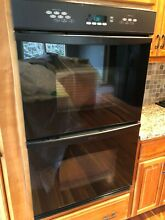 Dacor Black Double 30  Wall Electric Oven  Model PCS230B