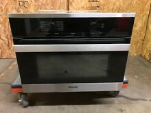 Miele 24  PureLine Stainless Steel Speed Convection Oven   H6200BM Clean touch