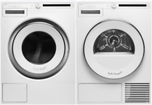 Asko W2084W   T208HW Classic 24  Front Load Washer  Electric Heat Pump Dryer
