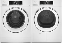 Whirlpool WFW5090GW   WHD5090GW 24 Inch Washer   Dryer in White