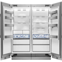 Dacor DRR30990RAP   DRZ30990LAP Atelier Collection Refrigerator and Freezer