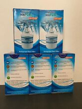 5 Golden Icepure Kenmore Samsung RWF1100A Replacement Refrigerator Water Filters