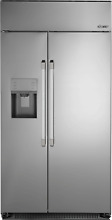 Dacor 42  Stainless Steel Built In Side by Side Refrigerator DYF42SBIWS