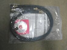 1 set  2 PACK  RUBBER WASHING MACHINE HOSES 4FT LONG  HOT AND COLD WATER NEW