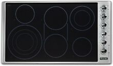 Viking VECU53616BS 5 Series 36  Electric Smoothtop Style Cooktop with 6 Element