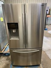 Samsung RF263BEAESR 36  Freestanding French Door Refrigerator with 24 6 cu