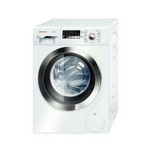 Bosch Axxis Plus Series  24  White   Silver Front Load Dryer WTB86202UC