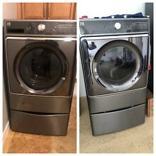 Kenmore Elite Washer and Dryer Drawer Pedestals included EUC
