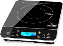 Duxtop Portable Induction Cooktop  Countertop Burner Induction Hot Plate with LC