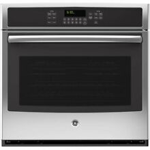 GE JT5000SFSS 30  Built In Single Electric Convection Wall Oven   Stainless