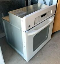27  White GE Single Wall Oven Model  JKP70DP1WW Serial  AZ610276Q PICK UP ONLY