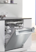 Miele G5175SCViSF Futura Crystal 24  Fully Integrated Dishwasher Clean Steel