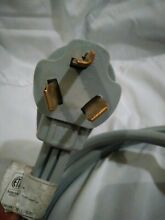 Utilitech 3 Prong Dryer Power Supply Cord
