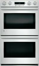 Monogram 30  Double Wall Oven  Stainless Steel