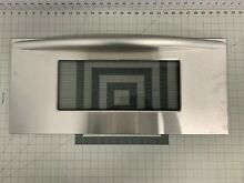 KitchenAid Oven Microwave Combo Outer Door Glass w Handle  4452259 WP4452259