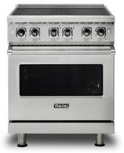 Viking 30  4 7 Cu  Ft MagneQuick Stainless Electric Induction Range VIR53014BSS