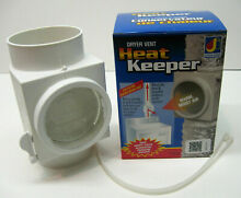 CHK100ZW Dryer Vent Heat Keeper Saver Dundas Jafine Winter and Summer Positions