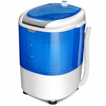 Costway Portable Mini Counter Top Washing Machine 5 5lbs Spin Basket Laundry