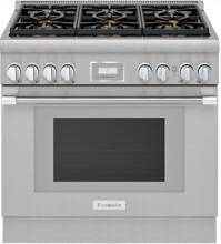 Thermador PRG366WH Pro Harmony 36 Inch Freestanding Gas Range Stainless Steel