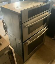 30  Wide Stainless Jenn Air Micro Oven Combo Model  JMV3430WS02 Microwave Upper