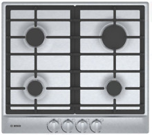 Bosch NGM5456UC 500 Series 24 Inch Gas Cooktop with 4 Sealed Burners Stainless