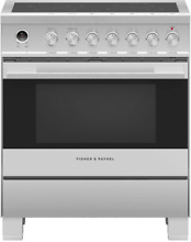 Fisher   Paykel OR30SDE6X1 Contemporary Series 30 Inch Electric Range Stainless