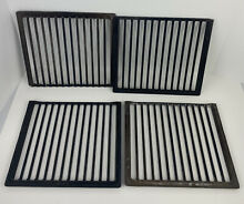Jenn Air Grill Grates  Regular Style Lot Of 4 10 3 4  X 9 5 8  Vintage Stove Top
