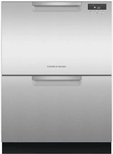 Fisher   Paykel DD24DAX9N 24 Inch Full Console Double DishDrawer in Stainless