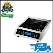 Professional Portable Induction Cooktop Commercial Range Countertop Burner 1800W