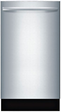 Bosch SPX68U55UC 800 Series 18  Fully Integrated Built In Dishwasher Stainless
