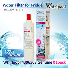 WHIRLPOOL  FRIDGE WATER FILTER 4396508 GENUINE MODEL