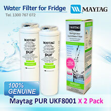 2 x Amana Maytag Jenn Air Puriclean II Filter UKF8001AXX 100  GENUINE FILTER