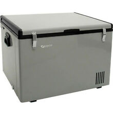 80 Qt Portable Chest Freezer   Refrigerator  Compact 12V DC   AC Power Cooler